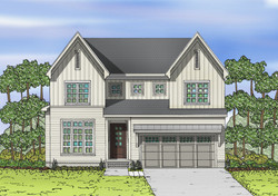 12 West Lake Colored Rendering