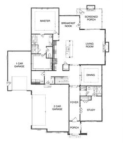 The Aubrey II Downstairs