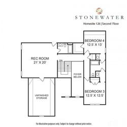 126 Stonewater Upstairs