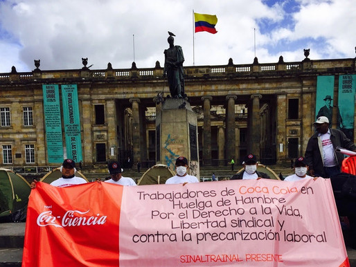 Coca-Cola Workers on Hunger Strike