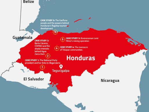 Global Witness Report on Honduras Vindicates Berta Cáceres Act.