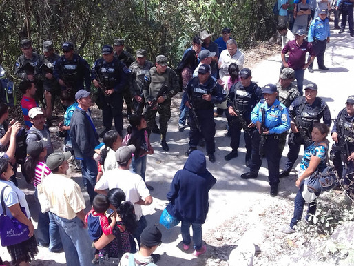 Indigenous Lenca Mobilization Meets Intimidation and Harassment in Rio Blanco