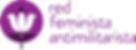 Red Feminista Animilitarista logo