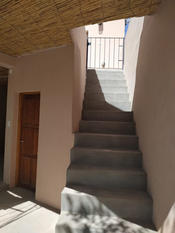 primer piso por escalera
