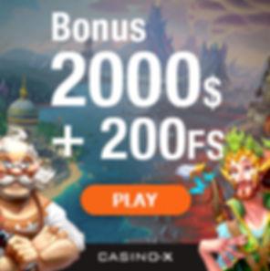 Casino-X Casino Bonus
