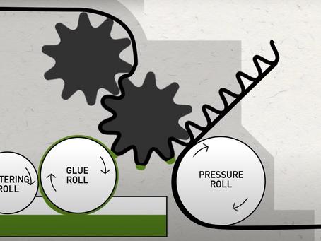 段ボール製造工程に粘度計の導入によるコストダウン・最適化