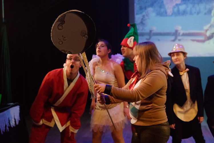 Winter Wonderland by Hubbub Theatre Company | Deda, Derby | 8th Dec 2017 | Props & SM: Maria Terry. (Photo credit: Hubbub Theatre)
