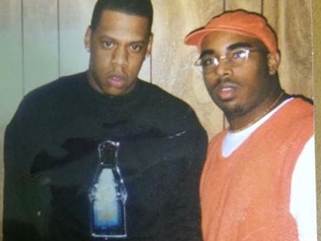 Jay-Z Backstage in Miami
