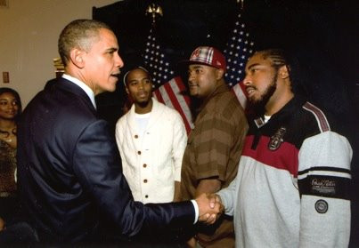 TJ Chapman meeting President Barack Obama at the White House.