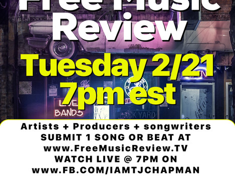 Free Music Review tonight at 7pm
