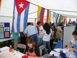 Comadreando...Carmen Estes, Maria Sorenson, and Vilma Nieto