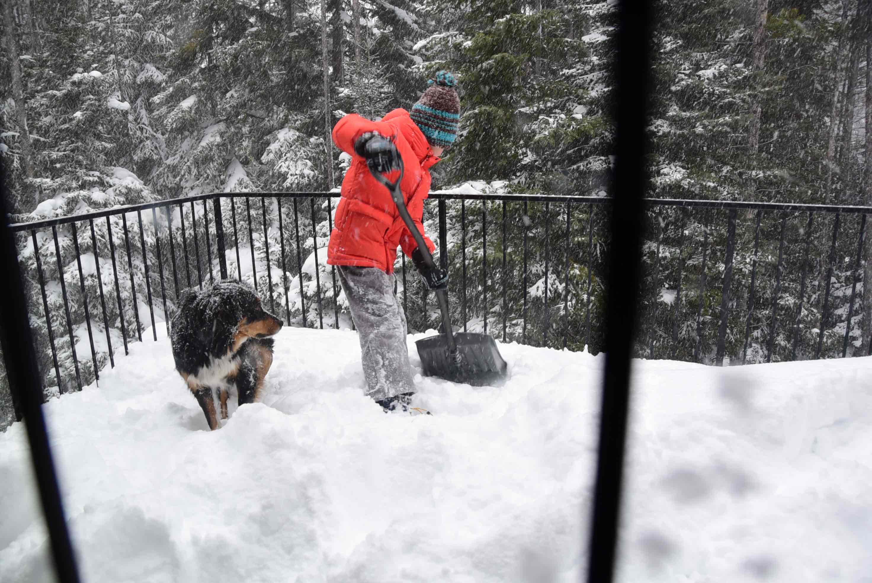 shovelling new snow Dec-2016