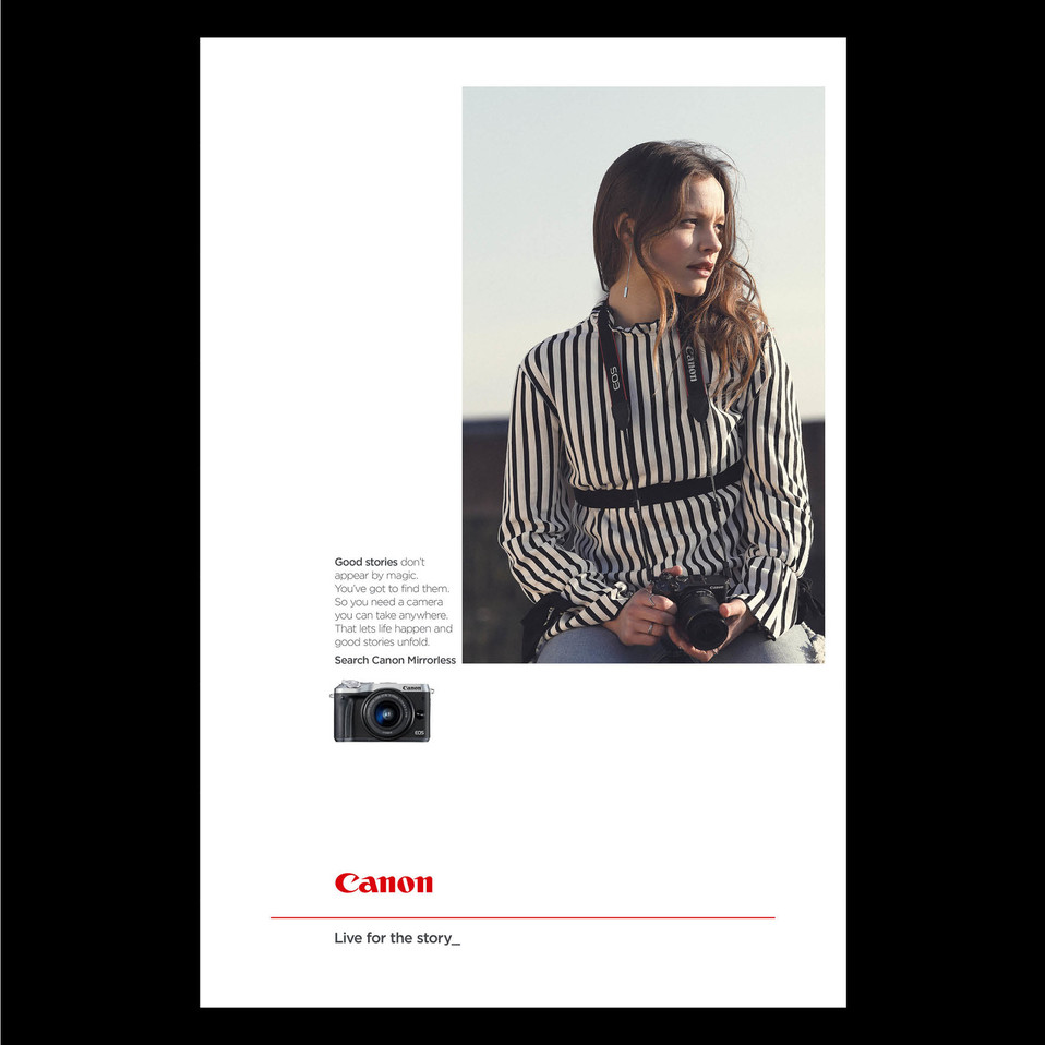 CANON mirrorless cameras campaign August