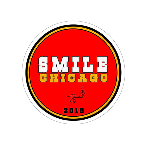 Smile Chicago 2018 Sticker