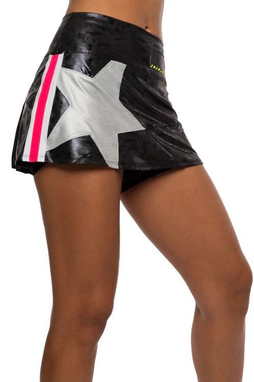 Superstar Black Camo Tennis skirt