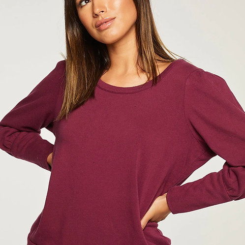 Chaser Puff Sleeve Pullover