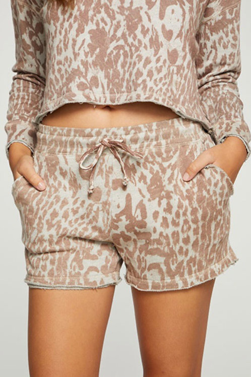 Chaser Cheetah French Terry Shorts