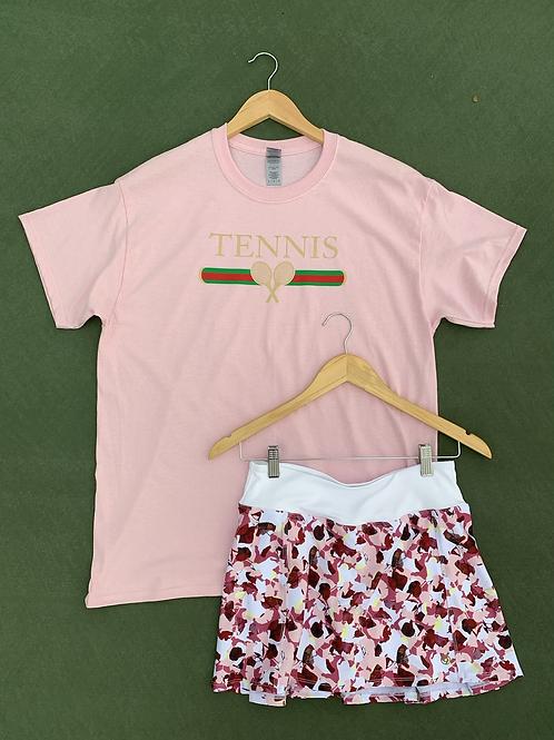 HNH Pink Tennis Tee
