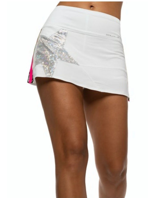 Superstar White Tennis Skirt