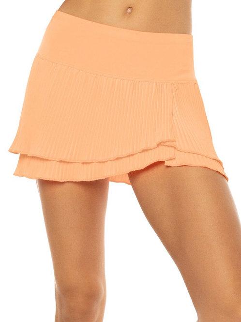 Long Effortless Pleated Tennis Skirt