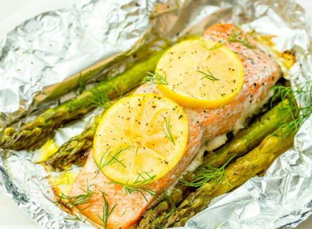 Easy peasy lemon...salmon!