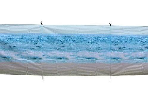 The Beach 4 Pole Compact Windbreak (Steel Poles)