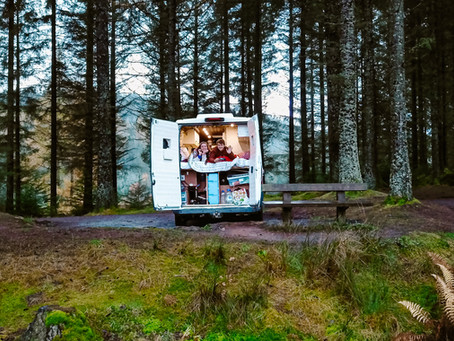 Dream Big, Travel Far Van conversion