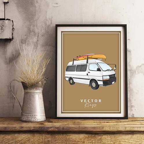 Campervan & Motorhome Illustrations