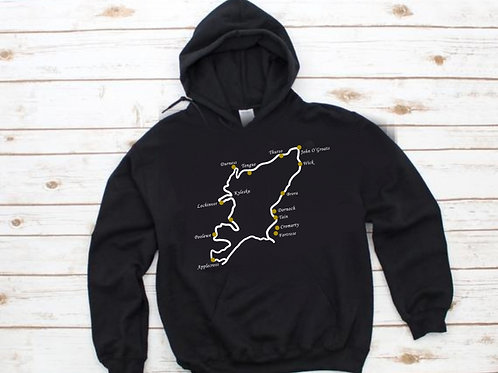 'The North Coast 500' Hoodie