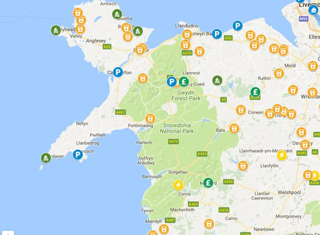 North Wales - Some of our stops!