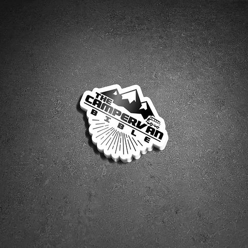 Black & White Logo External Sticker