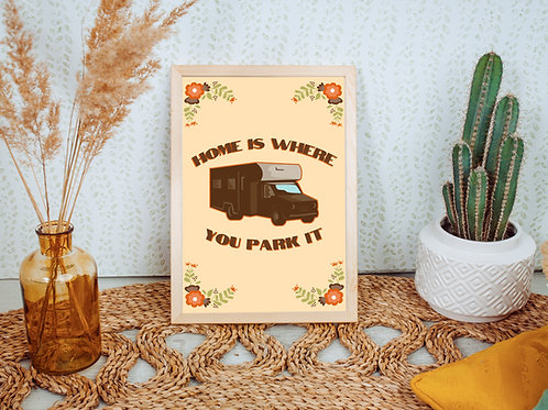 Home is where you park it Print