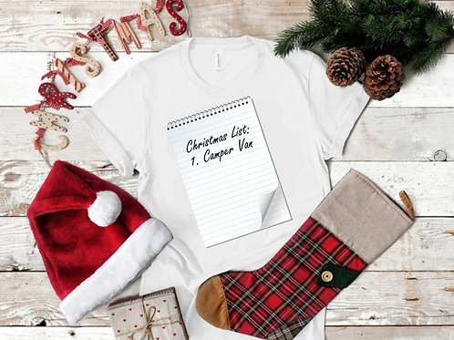 Christmas List T-Shirt