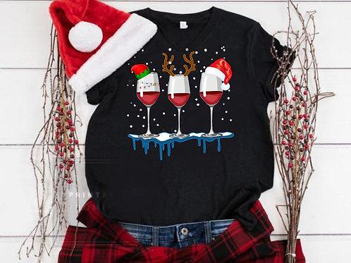 Christmas Wine T-Shirt