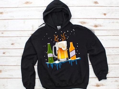 Christmas Beer Hoodie