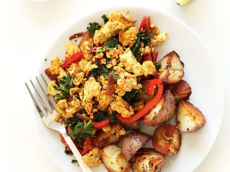 Simple Tofu Scramble