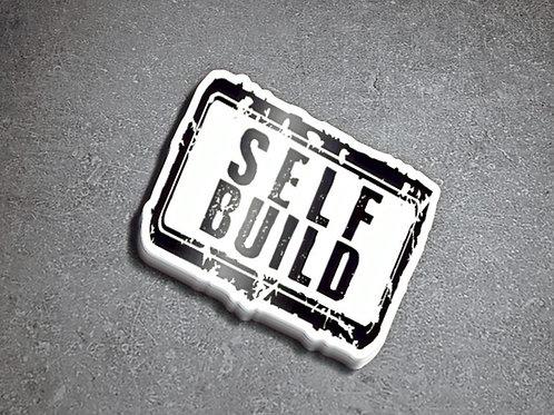 Self Build Square Sticker