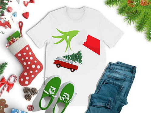 Grinch Christmas T-Shirt