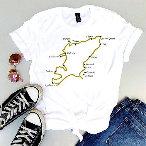 'The North Coast 500' T-Shirt