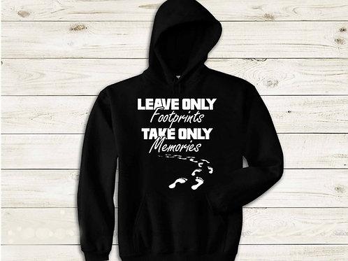 Leave Only Footprints Hoodie