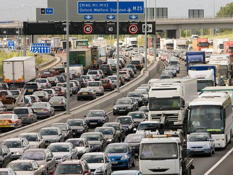 Motorway closures for the next 7 days