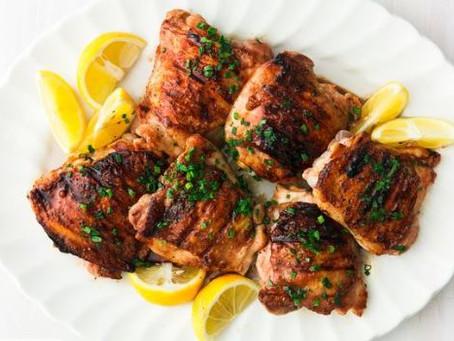 Honey Balsamic Grilled Chicken Thighs