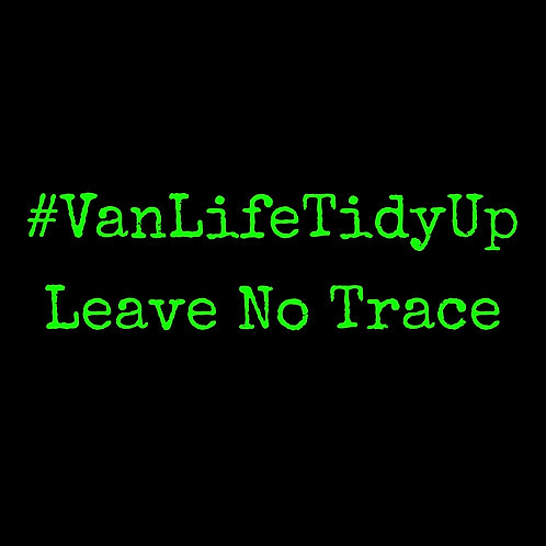 Van Life Tidy Up T-Shirt