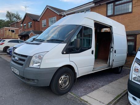 Cosy van for 3!