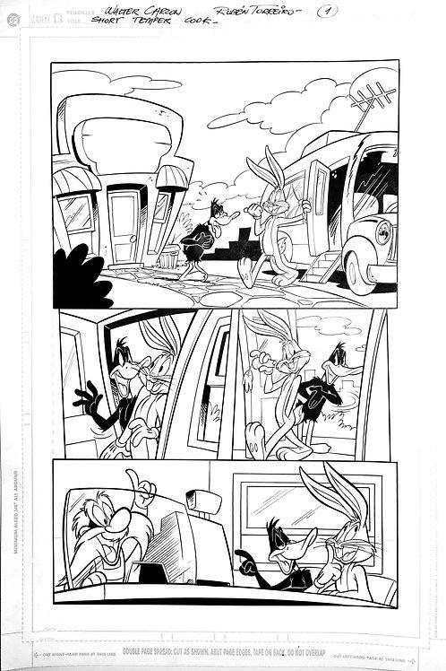 Looney Tunes - Interior Page