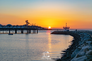 Harbour Arm Sunset