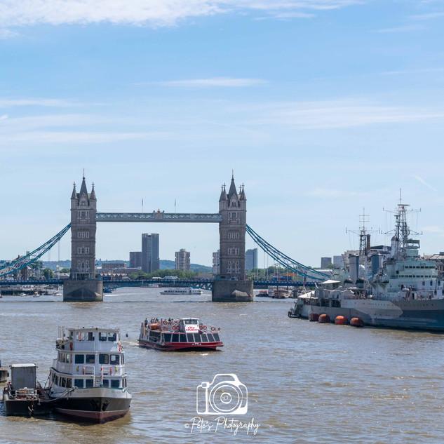 3 Tower Bridge and HMS Belfast Colour