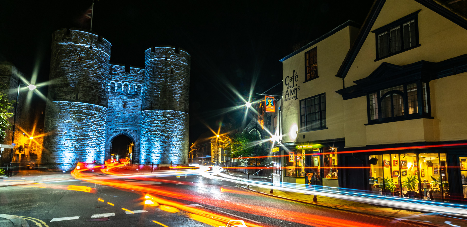 Westgate Towers By Night