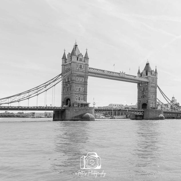 1. Tower Bridge B&W