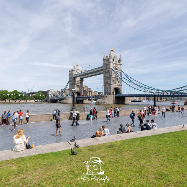 2. Tower Bridge & Tower Of London Colour